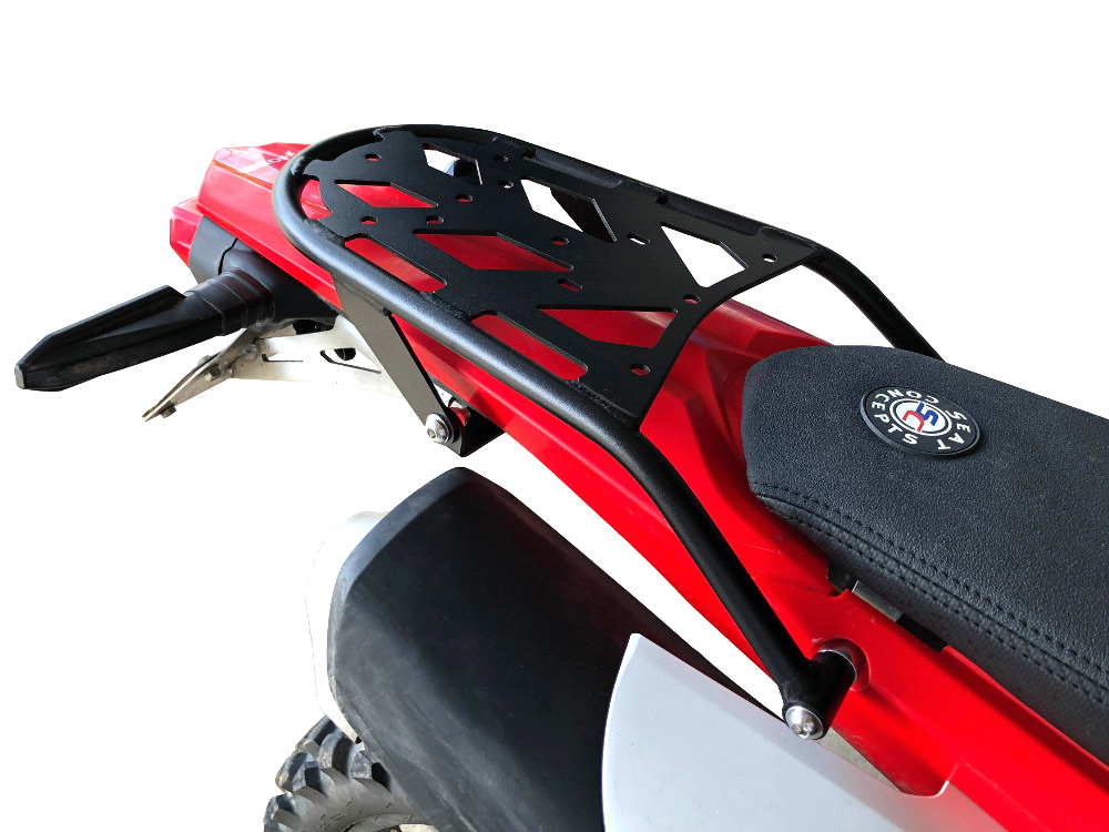 crf450l rear luggage rack