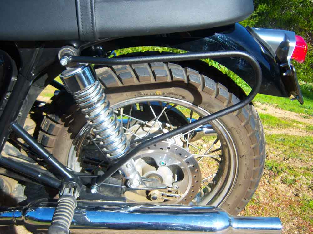 Triumph - Scrambler Left Side Rack