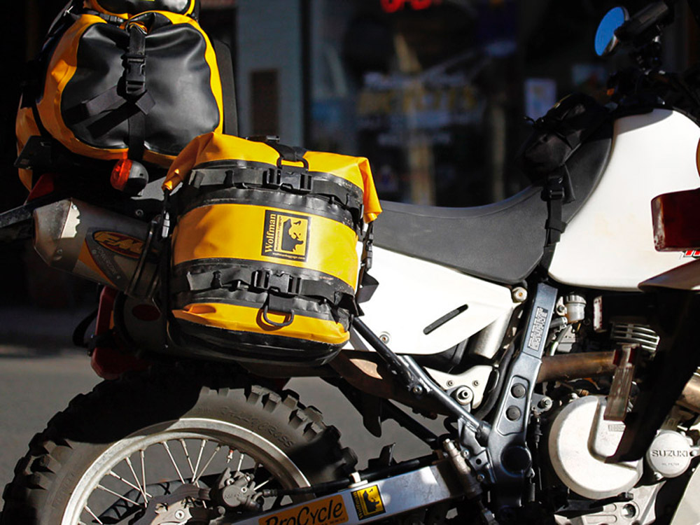 Pmr Wolfman Yellow Dry Saddle Bags Expedition 349