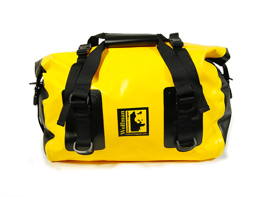Wolfman - Yellow Small Dry Duffel Bag