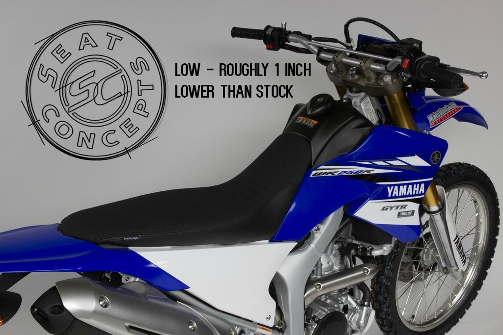 WR250R Seat Concepts Low Height