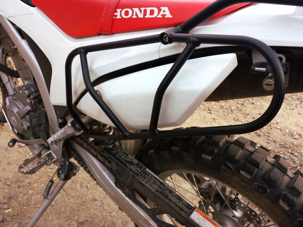 crf250l side luggage racks 3
