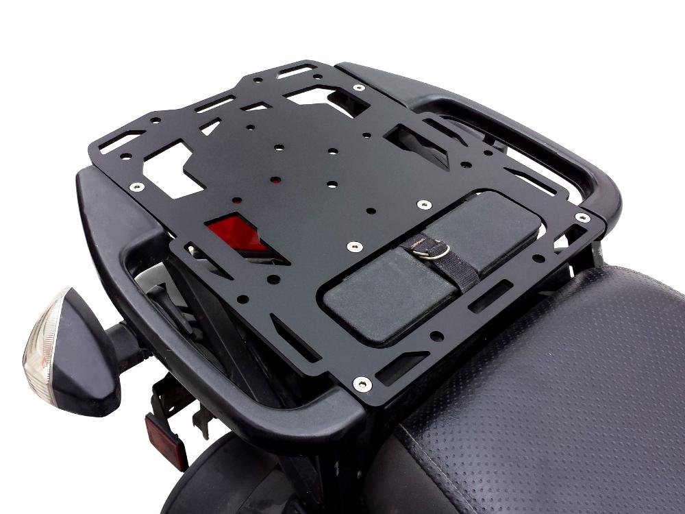 Xitomer KLR650 Motorcycle Luggage Racks,Cargo Rack for KAWASAKI KLR650 2008 2009 2010 2011 2012 2013 2014 2015 2016 2017 2018