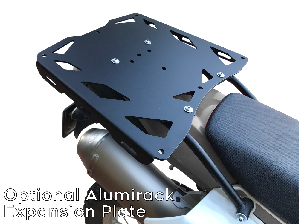 XR650L rear luggage rack alumirack