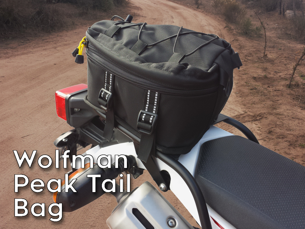 xt250 rear luggage rack wolfman peak tail bag