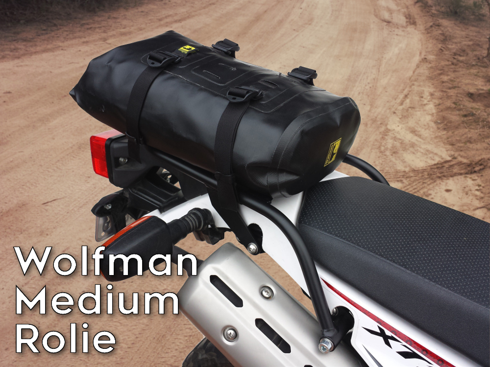 xt250 rear luggage rack wolfman rolie